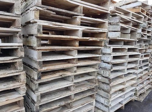 Crates, boxes and timber offcuts - Waste Wood Management