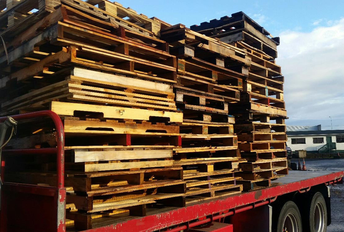 Wood Pallet Waste Removal & Recycling - Waste Wood