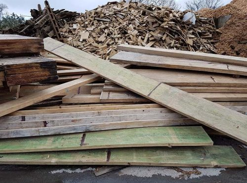 industrial wood waste management